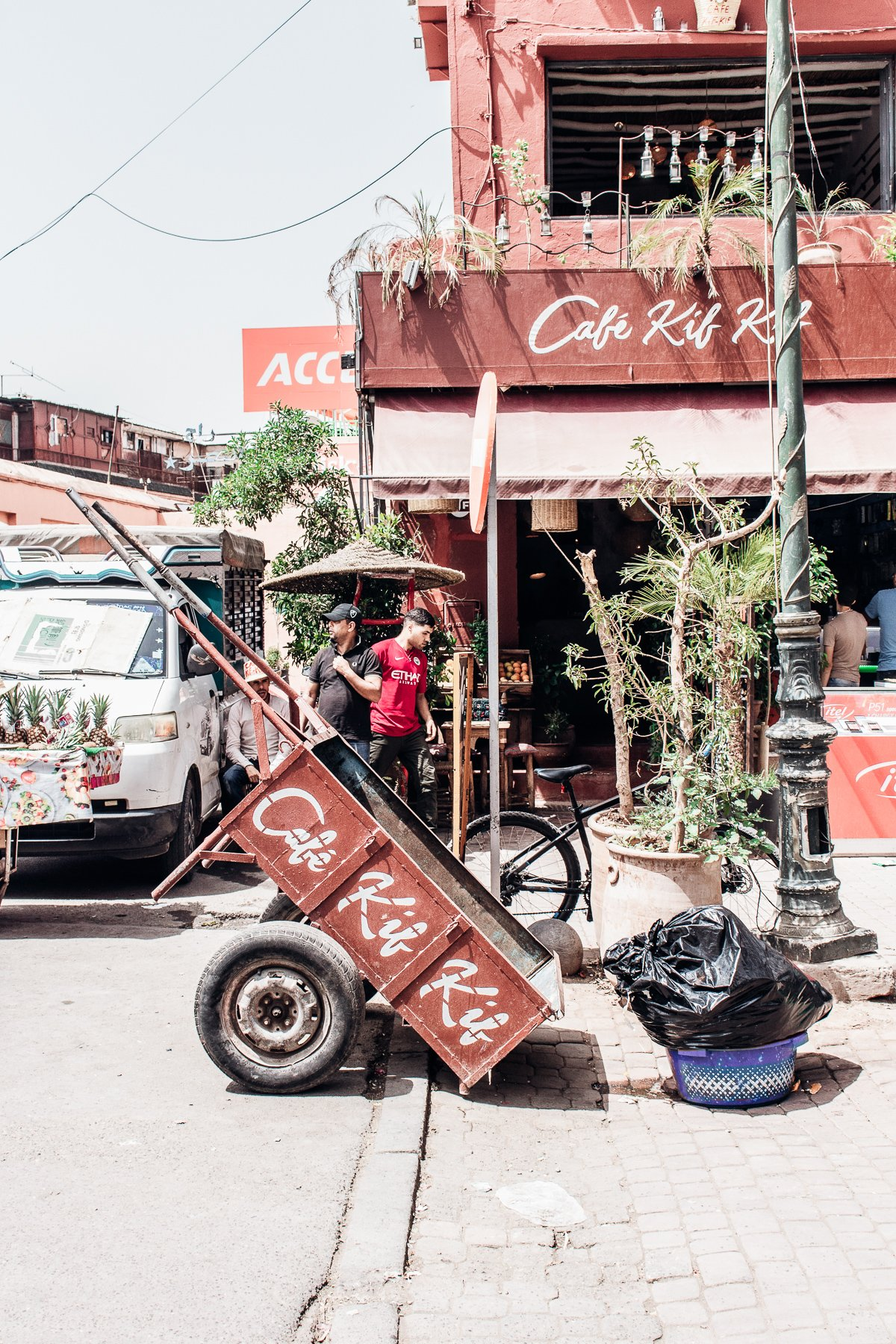 Marrakesch Tipps Café Kif Kif