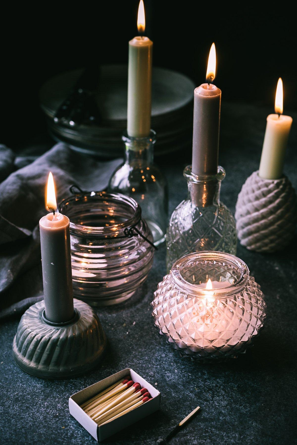 Kerzen anzuenden