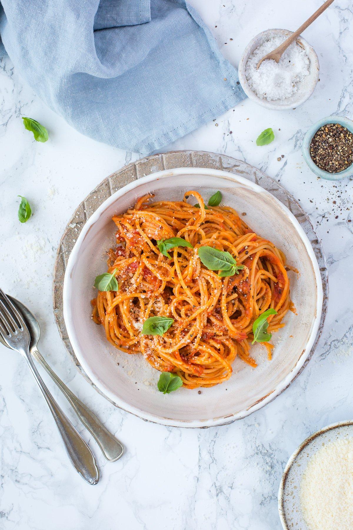 Thermomix Spaghetti Napoli Rezept