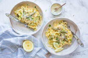 Thermomix One Pot Pasta mit Spargel – herrlich cremig