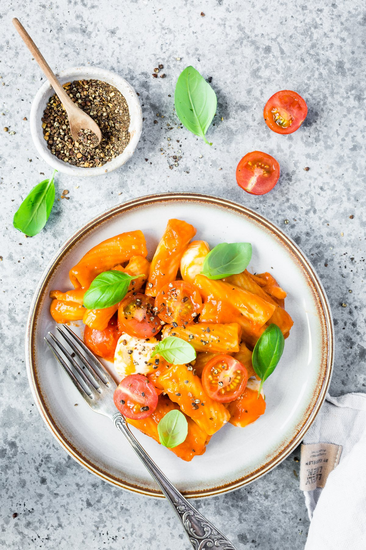 All in One Pasta aus dem Thermomix