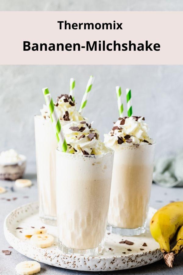 Bananen-Milchshake aus dem Thermomix